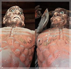 金剛力士像(阿形/吽形)
